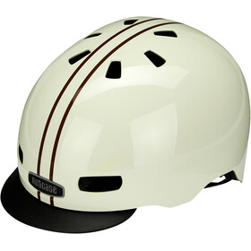 Nutcase Street MIPS Casque, leather bound stripe gloss